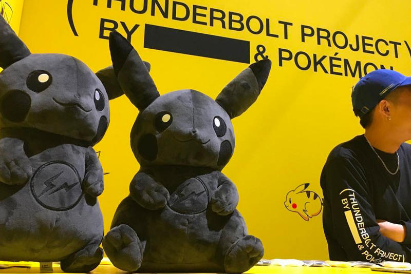 東京快閃店情報公開!藤原浩最新企劃「THUNDERBOLT PROJECT BY FRGMT & POKÉMON」