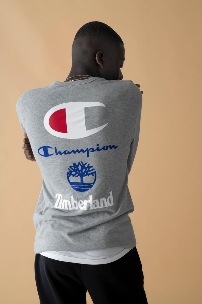 Timberland & Champion 2018 秋冬季度全新聯乘別注系列發佈