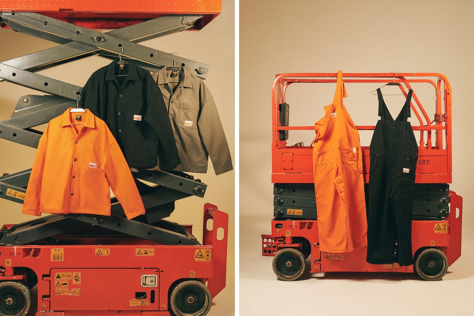 Timberland PRO® 首次進駐日本,與 N.HOOLYWOOD 帶來聯乘系列