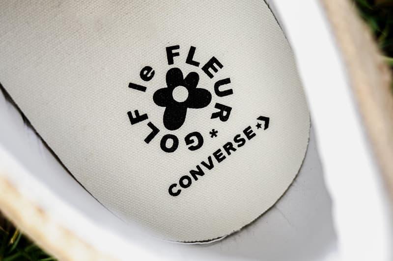 近賞 Converse x Tyler, the Creator 全新聯乘 GOLF le FLEUR* One Star 鞋款