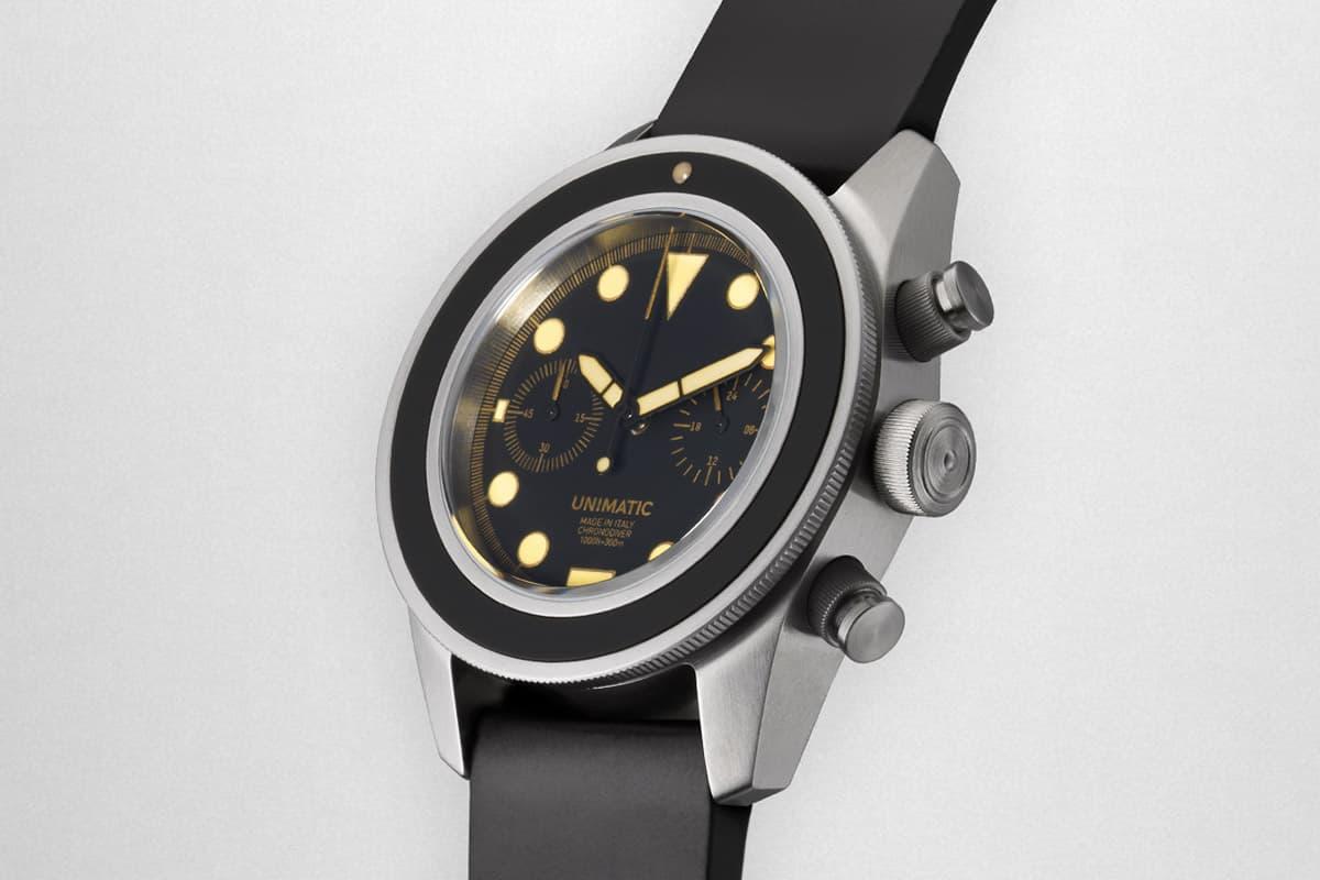 現代復古美學-Unimatic 釋出全新計時錶款 U3-A