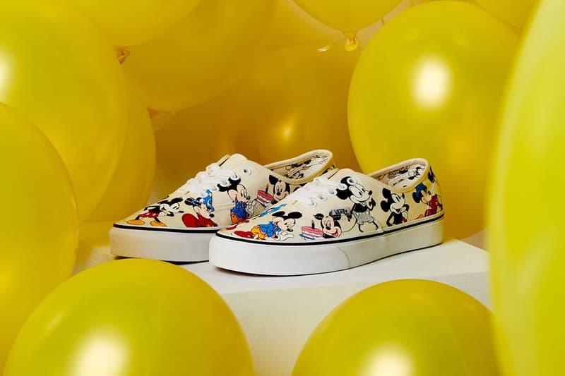 Disney x Vans「Mickey Mouse」別注系列新品登場