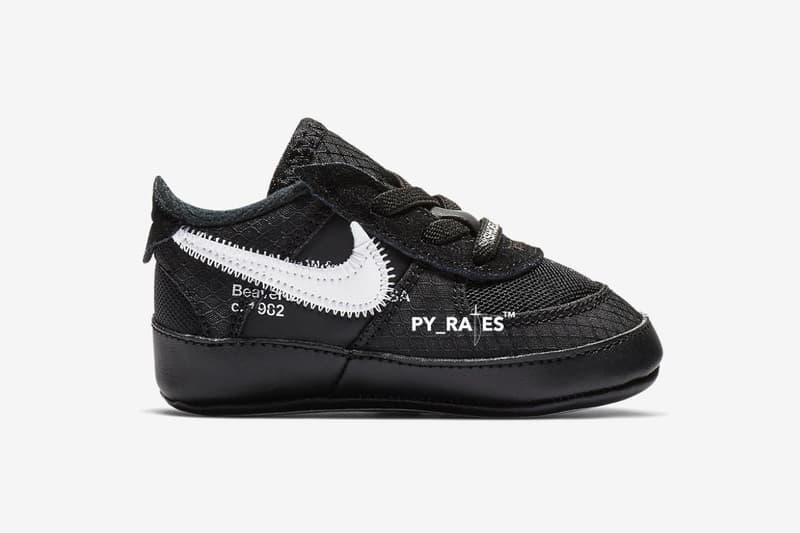 搶先預覽 Off-White™ x Nike 全新聯乘 Air Force 1 童鞋版本