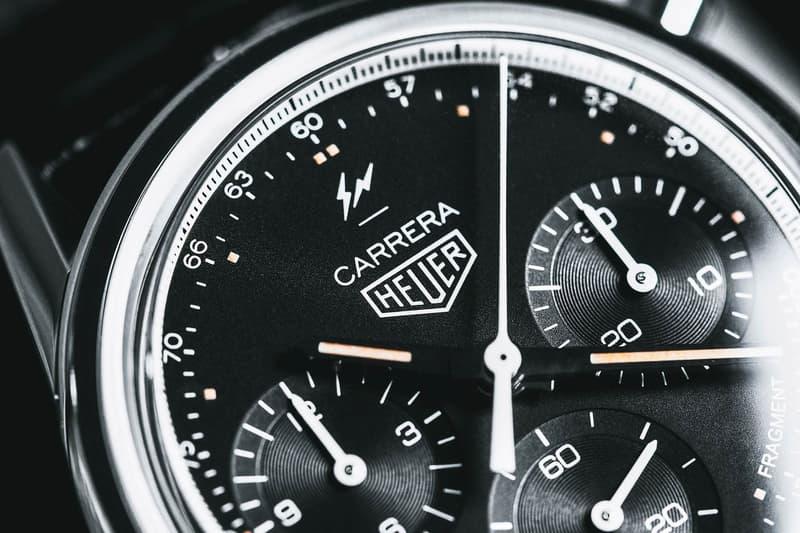 限定 500 枚!細節近賞 fragment design x TAG Heuer Carrera Heuer-02 聯名腕錶