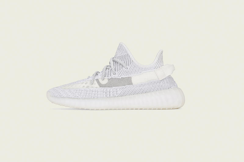 半透明材質-adidas Originals YEEZY BOOST 350 V2 全新配色「Static」香港區發售情報