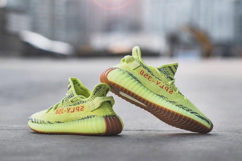 ce52ab9ca adidas YEEZY BOOST 350 V2「Semi Frozen Yellow」販售店點名單公佈 ...