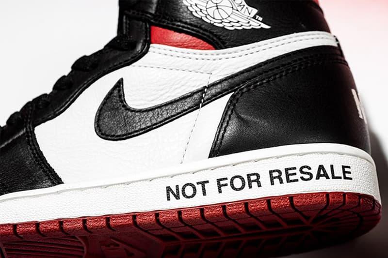 二次入手 − Air Jordan 1「Not For Resale」無預警補貨上架