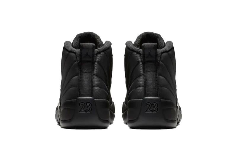 冬季專屬 Air Jordan 12「Winterized」正式上架