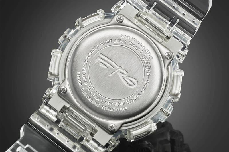 A$AP Ferg x G-SHOCK 聯乘系列「Diamond」台灣發售情報