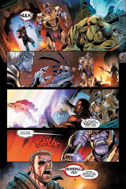 搶先預看《Avengers 4》前奏曲漫畫部分情節