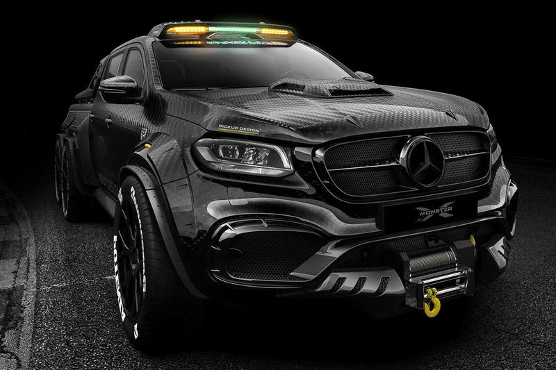 霸氣側露 − Carlex Design 打造 Mercedes-Benz X-Class 終極改裝