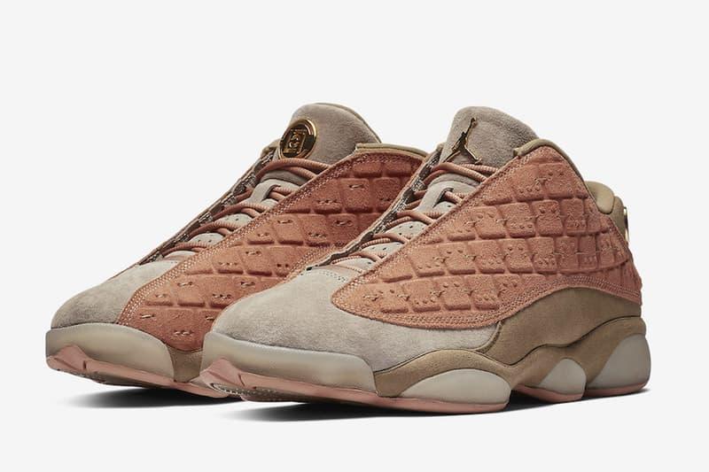 兵馬俑元素注入!CLOT x Air Jordan 13 Low 聯乘鞋款官方圖片釋出