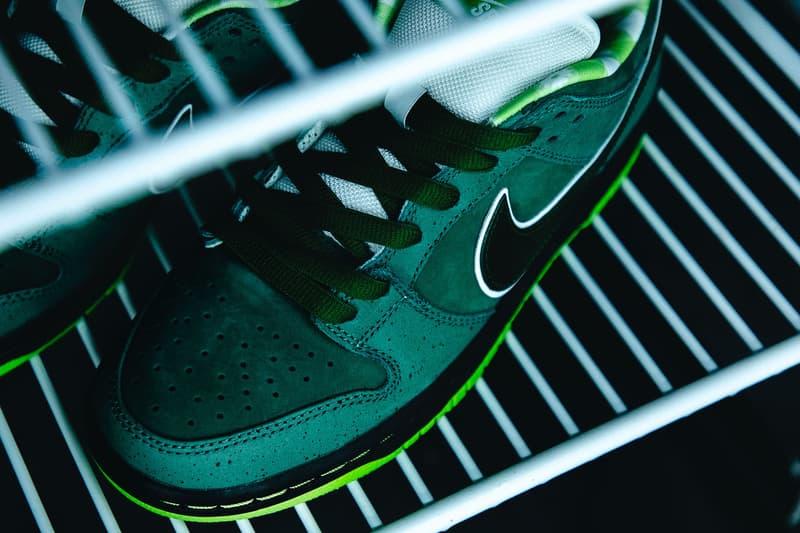近賞 Concepts x Nike SB Dunk Low「Green Lobster」配色