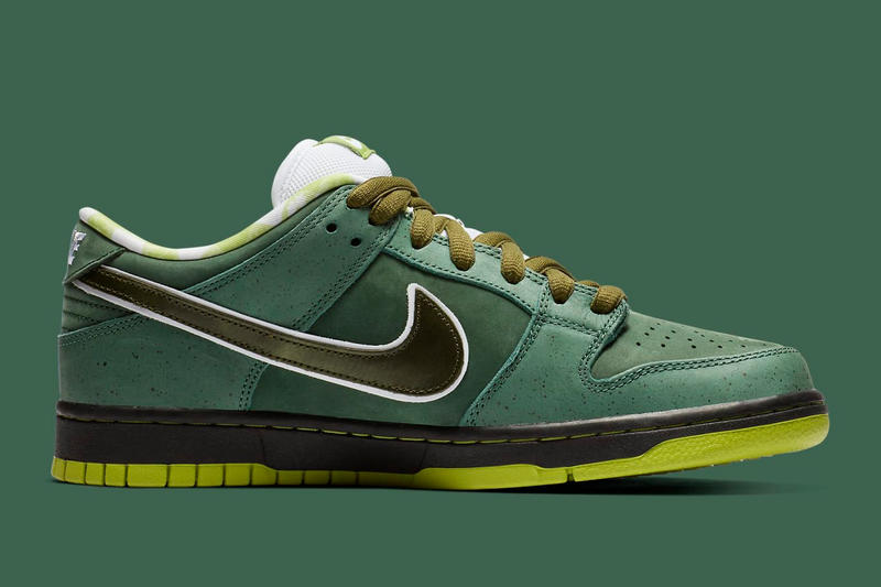 Concepts x Nike SB Dunk Low「Green Lobster」官方圖片釋出
