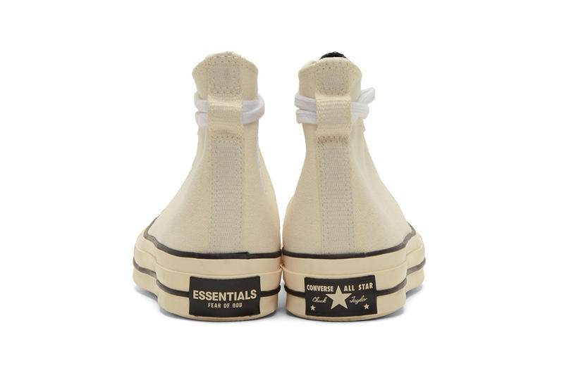 Fear of God 副線品牌 ESSENTIALS x Converse Chuck 70 突擊上架