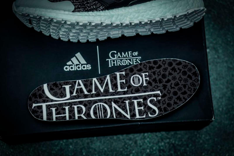 率先近賞《Game of Thrones》x adidas UltraBOOST「Night's Watch」聯乘配色
