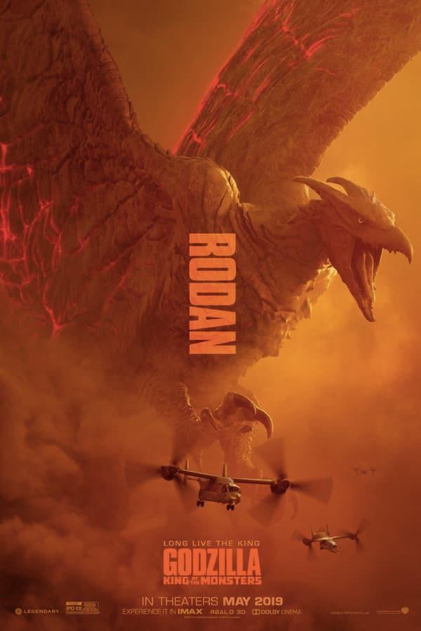 三大巨獸登場!《哥斯拉:怪獸之王》最新電影海報釋出