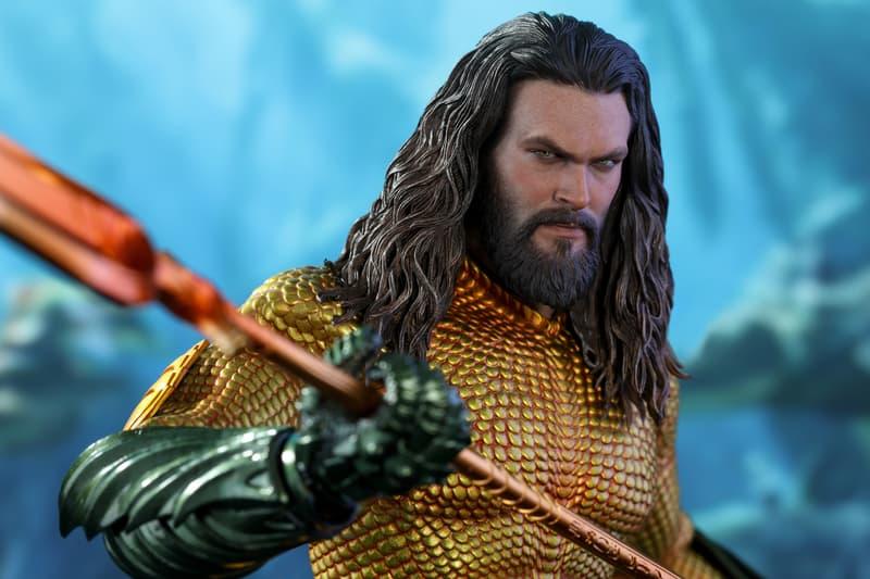 Hot Toys 最新《Aquaman》水行俠 1:6 比例珍藏人偶正式登場