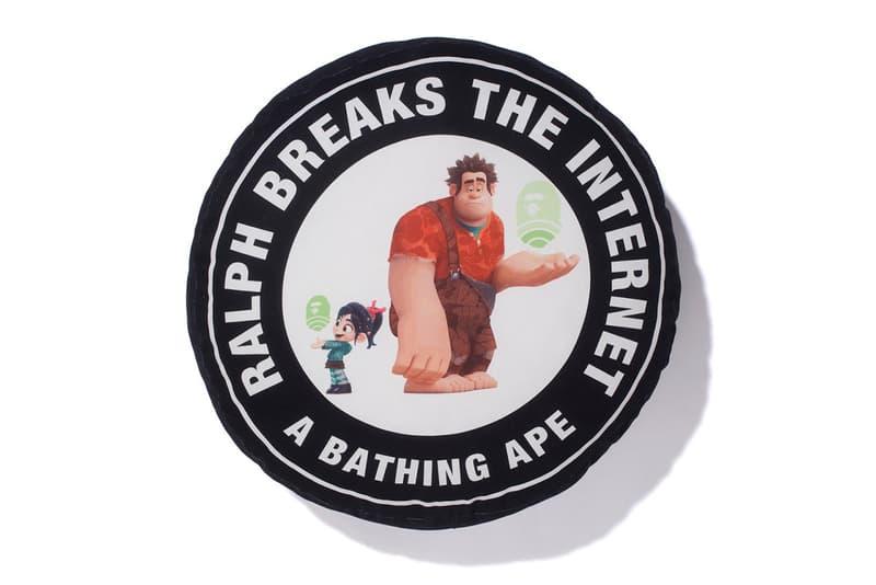 A BATHING APE® x《Ralph Breaks the Internet》聯乘系列上架