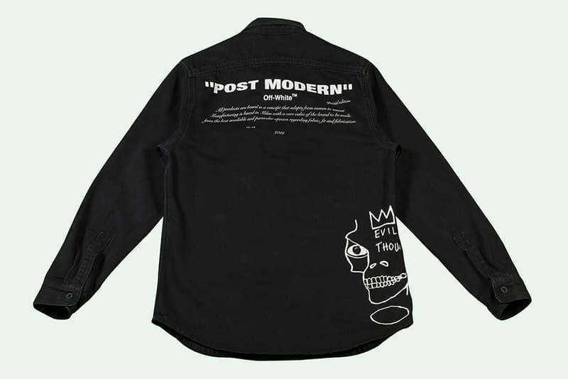 Jean-Michel Basquiat x Off-White™ 全新聯乘系列上架