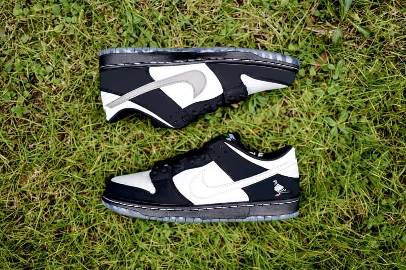 獨家近賞 Jeff Staple x Nike SB Dunk Low「Pigeon」全新黑白配色