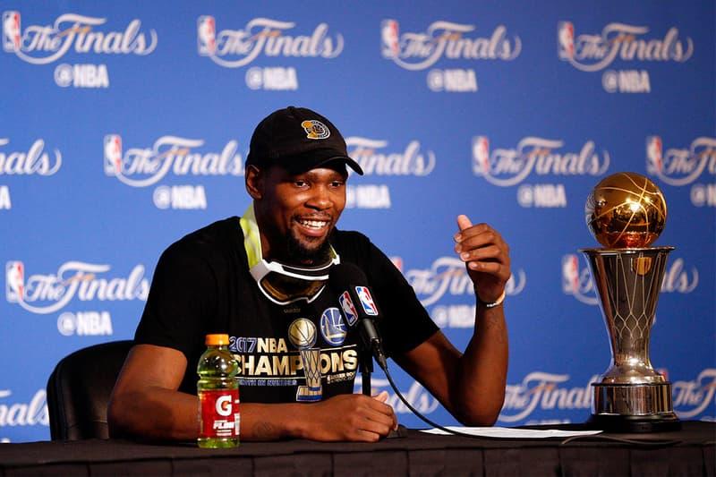 汗馬功勞?Kevin Durant 認為 Warriors 球團將會立銅像紀念其貢獻