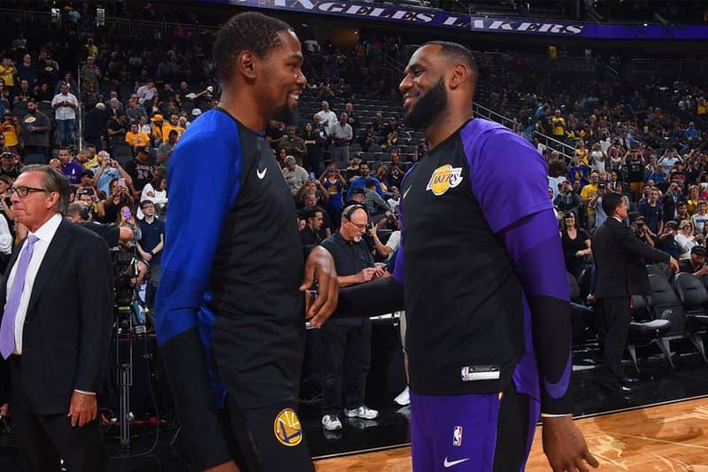 「不願與 LeBron James 打球 」Kevin Durant 正面駁斥加入 Lakers 傳言
