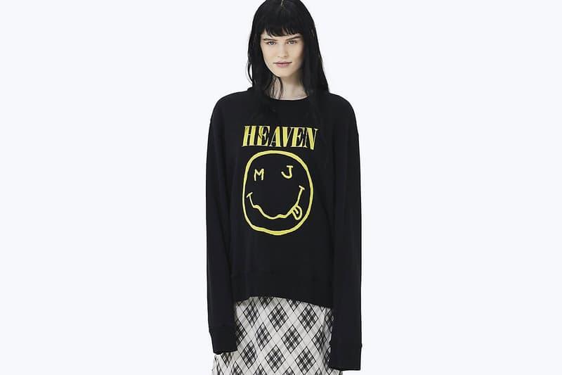 Nirvana 因「笑臉」Logo 被使用而起訴 Marc Jacobs