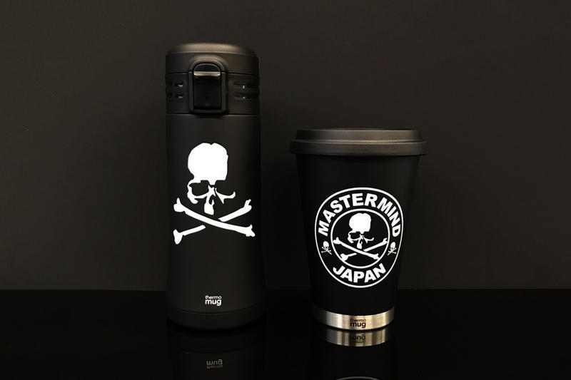 mastermind JAPAN x thermo mug 暗黑保溫瓶第二擊