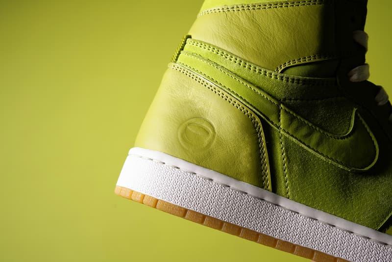 球鞋客製師 Chase Shiel 打造「抹茶」主題 Air Jordan 1