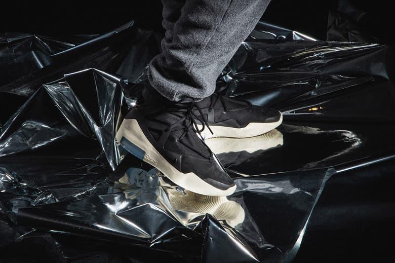 年度重磅鞋款 Nike Air Fear of God 1 黑色版本上腳預覽