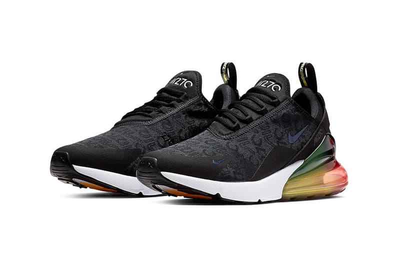 搶先預覽 Nike Air Max 270 全新「Black/Multicolor」配色