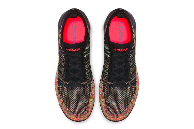 Nike Air VaporMax Flyknit 2.0 全新「Multi-Color」配色登場