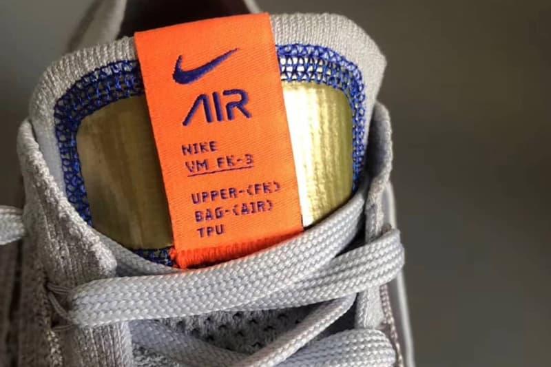 疑似 Nike Air VaporMax Flyknit 3.0 最新版本諜照曝光