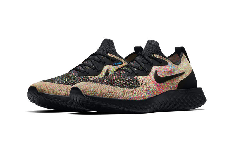Nike Epic React Flyknit 全新「Multicolor」配色登場