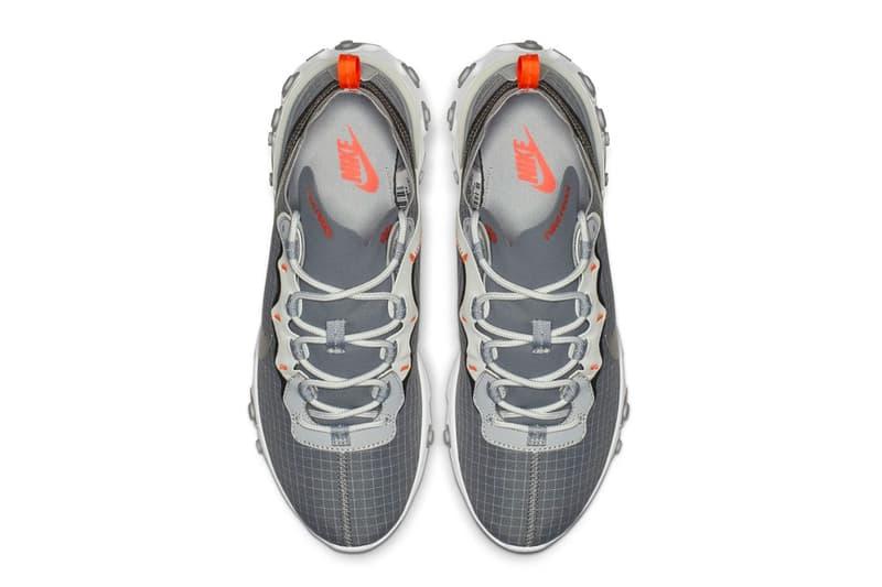 Nike React Element 55 釋出全新灰色版本