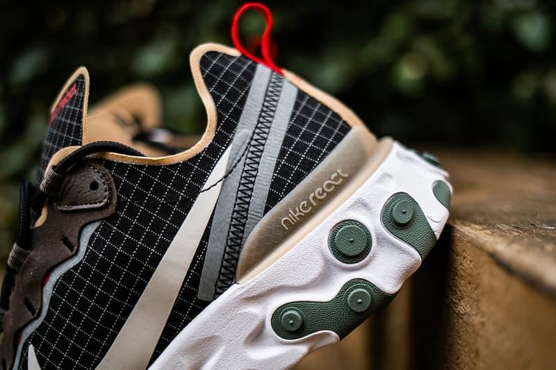 近賞 size? 獨佔 Nike React Element 55 全新配色設計