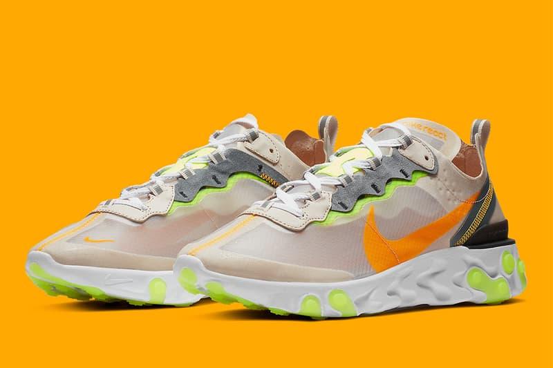 煥然一新・Nike React Element 87 全新配色「Light Orewood」
