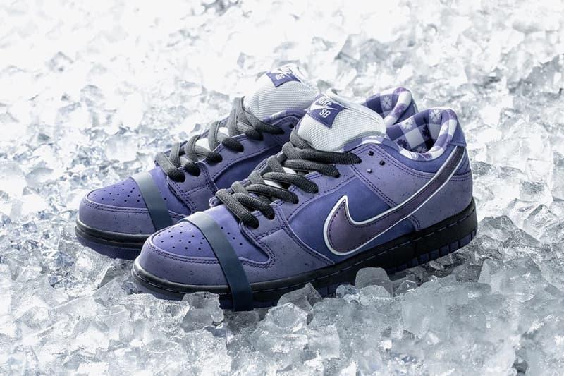 瘋狂鞋迷 − 網民願用 $10,000 美元買下 Concepts x Nike SB Dunk Low「Purple Lobster」