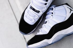 消息稱 Air Jordan 11「Concord」創下 Nike 史上發售貨量最高紀錄