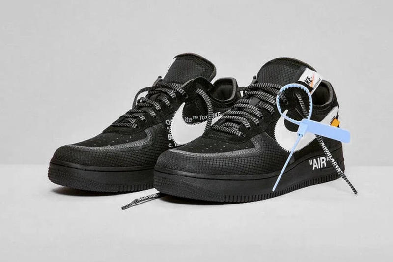 Off-White™ x Nike Air Force 1 全新「Black」&「Volt」配色販售店點公佈