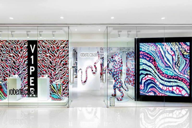 Roberto Cavalli 全新期間限定 Pop-up Store 正式登場