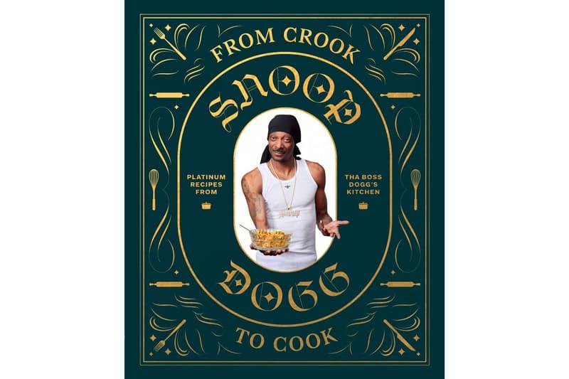狗爺教你做菜!Snoop Dogg 推出首本個人菜譜「From Crook to Cook」