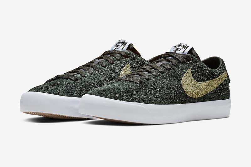 Stüssy x Nike SB 聯乘 Blazer 系列官方圖片釋出