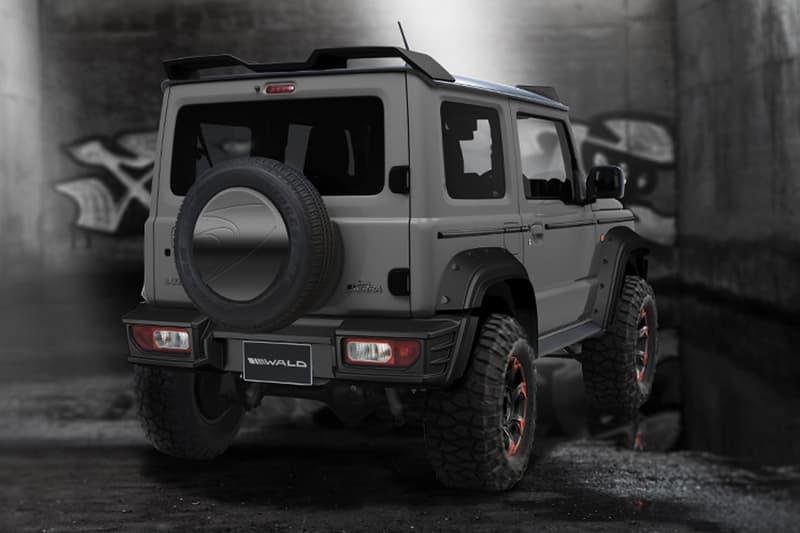 戰力升級 − 日本車廠打造 SUZUKI Jimny 全新 4x4 黑魂改裝版本