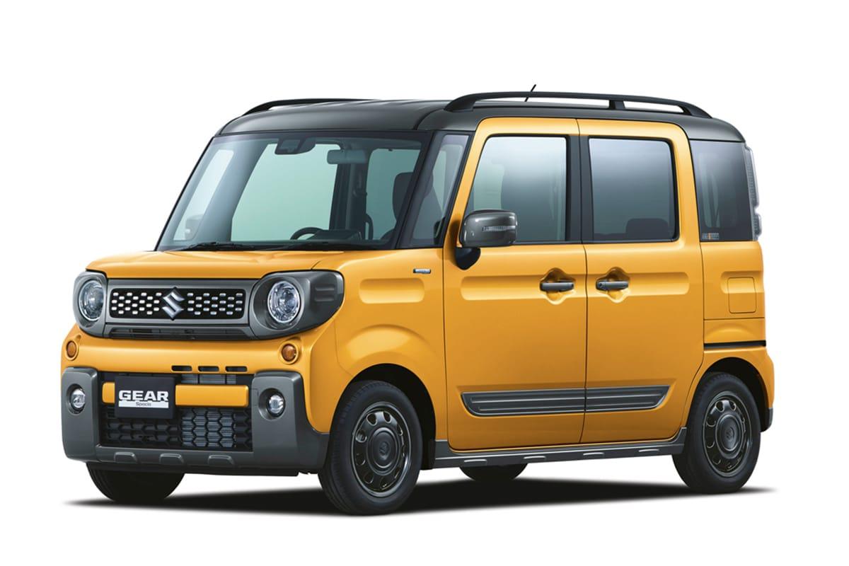 SUZUKI 釋出全新盒仔車 SUV「Spacia Gear」