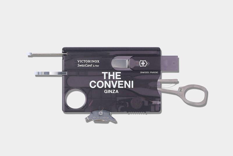 THE CONVENI 與 Victorinox 推出特別版 SwissCard Lite 口袋工具