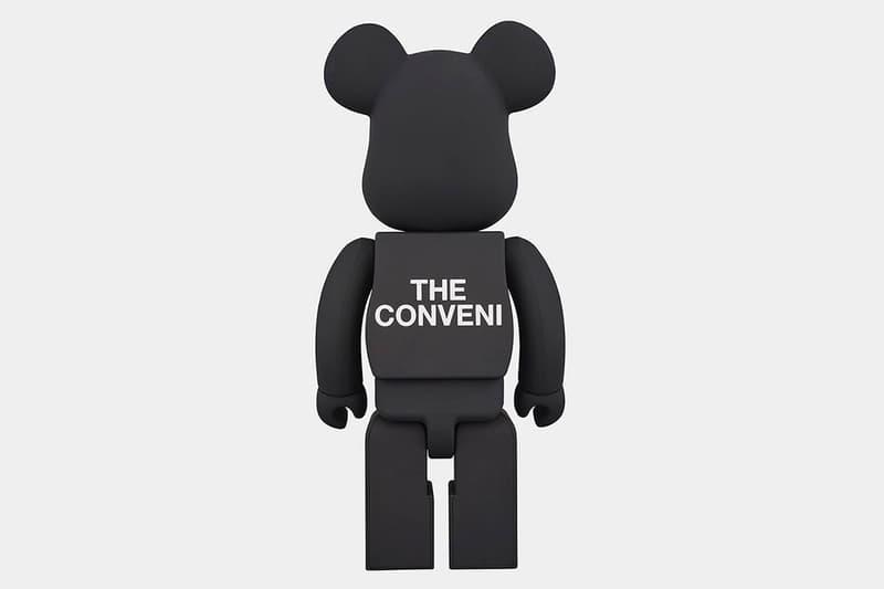 THE CONVENI x fragment design x Medicom Toy BE@RBRICK 發售詳情公開