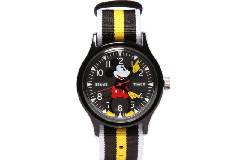 慶祝「Mickey Mouse」誕生 90 週年・Timex x BEAMS 製作全新聯名錶款