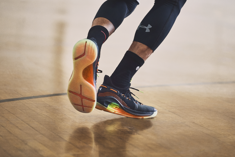 Under Armour 正式發佈 Stephen Curry 全新簽名式戰靴 Curry 6